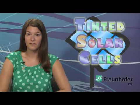 Colored Solar Cells & Battle of the Brains - LIGHT MATTERS 07.10.2013