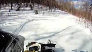 9. Skidoo 600 etec summit