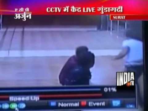 Video CCTV Video Of Youths Clashing Inside Surat Civil Hospital download in MP3, 3GP, MP4, WEBM, AVI, FLV January 2017