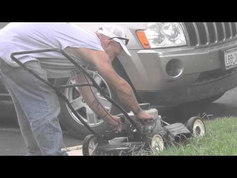 bladeless lawnmower prank