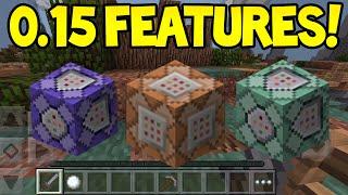 Minecraft Pocket Edition - 0.15.0 Update! - Command Blocks, Mods
