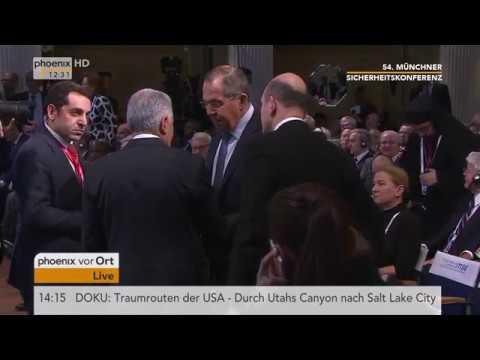 Rede von Sergej Lawrow bei der 54. Münchner Sicherhei ...