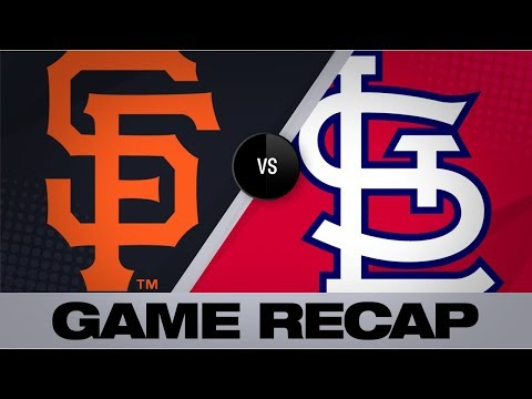 Video: Flaherty, Ozuna lead shutout victory | Giants-Cardinals Game Highlights 9/3/19
