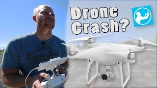 Drones: Flying and crashing..