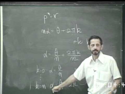 Komplexe Funktionen - Vorlesung 02
