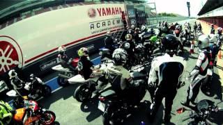 Primer curso de la Yamaha Academy On-Road 2012