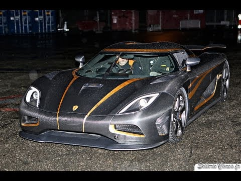 AGERA - The car leaving the show - Geneva 2013.