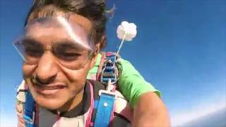 One more ticked off the bucket list with this skydive from 10000 feet over the northern part of Mauritius.