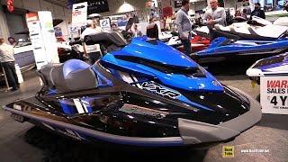 8. 2018 Yamaha VXR Jet Ski - Walkaround - 2018 Toronto Boat Show