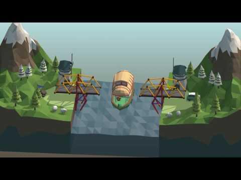 Poly Bridge gameplay