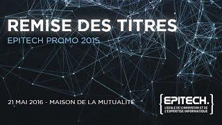 REMISE DES TITRES 2015