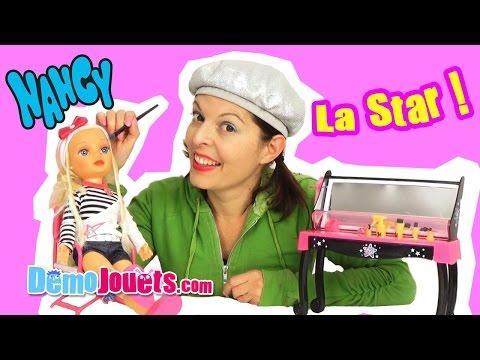 (JOUET) Poupée Nancy Mannequin Loge de Star - Demo Jouets