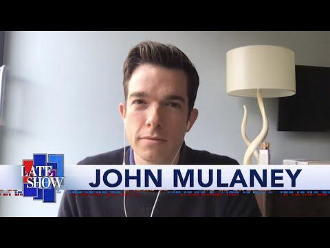 John Mulaney Compares Quarantine Dreams With Stephen Colbert