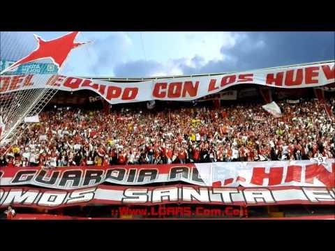 - La Novena del León! - Final Liga Águila 2016 II - Ind Santa Fe Vs Dep Tolima - - La Guardia Albi Roja Sur - Independiente Santa Fe