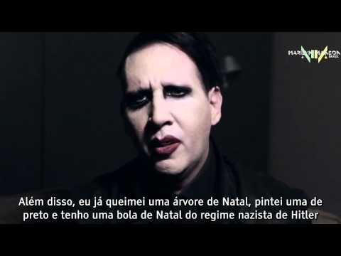 Manson dá suas impressões sobre o Natal (2014)