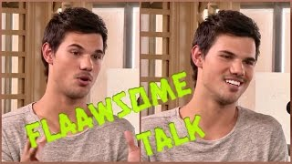 Taylor Lautner talks big muscles and his dream girl