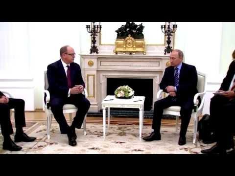 Visite officielle de S.A.S. le Prince Albert II à Moscou