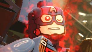 """Lego Marvels Avengers Captain America's Nightmare Scene """"Avengers Age of Ultron"""""""
