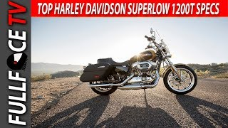 10. 2017 Harley Davidson SuperLow 1200T Specs Review