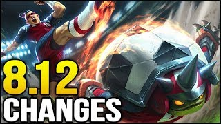 Video New changes coming soon in Patch 8.12 (League of Legends) MP3, 3GP, MP4, WEBM, AVI, FLV Oktober 2018