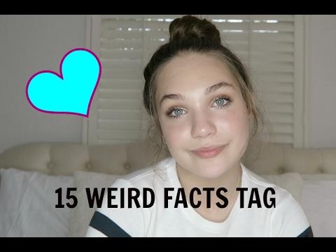 15 weird facts tag || Maddie Ziegler