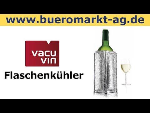Vacu Vin Flaschenkühler Kühlmanschette, Weinkühler, Sektkühler, Bierkühler