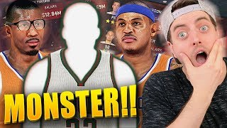NBA 2K15 Bucks MyGM #3 - Melo & Amar'e Are SCARED Of Our NEW 6 Foot 7 MONSTER PF!!