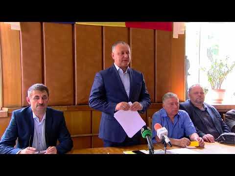 Игорь Додон председательствовал на общем собрании Шахматной федерации Молдовы