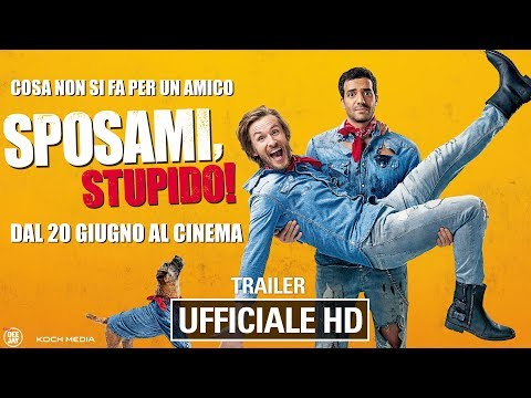 Preview Trailer Sposami, stupido!, trailer ufficiale italiano