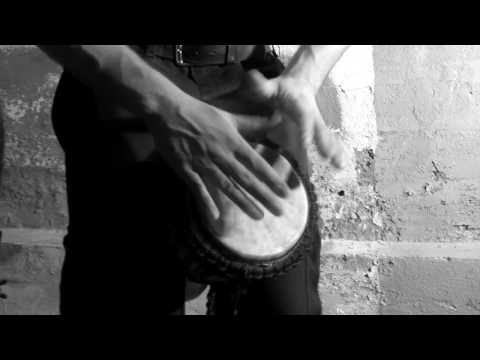 improvisation baby djembe #002