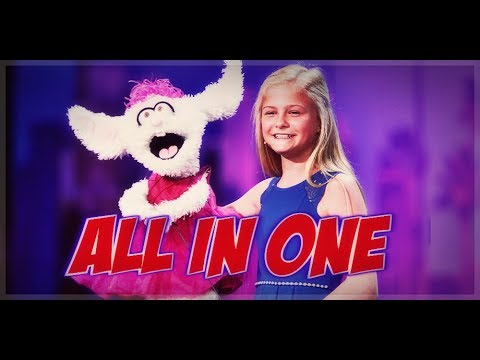 Darci Lynne - Winner of America's got Talent 2017 - All Performances +Judges Commentaries