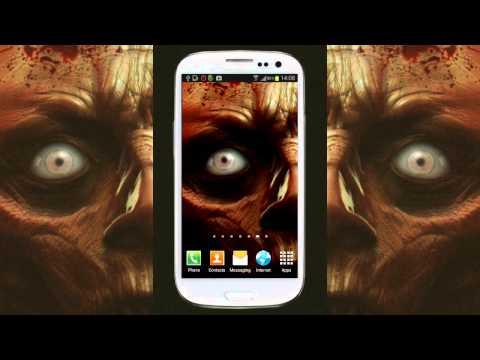 Video of Zombie Eye Live Wallpaper