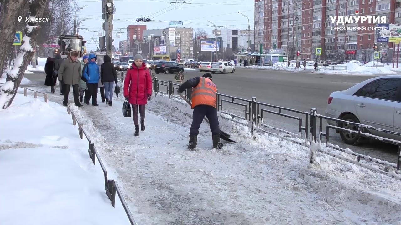 Уборка и вывоз снега в Ижевске