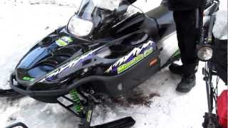 9. 2001 Arctic Cat Snowmobile For Sale