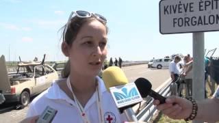 Katasztrófa felszámolási gyakorlat az M43-nál, vtv, đài truyền hình việt nam