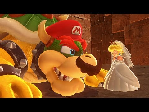 Super Mario Odyssey - Final Boss + Ending