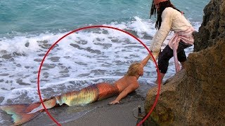 Video She finds Real Life Mermaid... Then This Happens... MP3, 3GP, MP4, WEBM, AVI, FLV Juli 2019