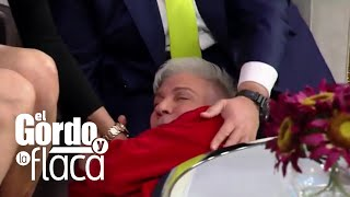 Osmel Sousa se desmayó como Francisca Lachapel