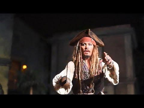 Johnny Depp Brings Disneyland Myth to Lif