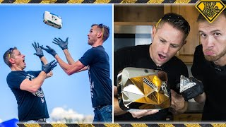 Breaking A Diamond Play Button
