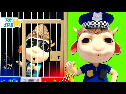 New 3D Cartoon For Kids ¦ Dolly And Friends ¦ Dolly Catching A Thief With Baby Police #105