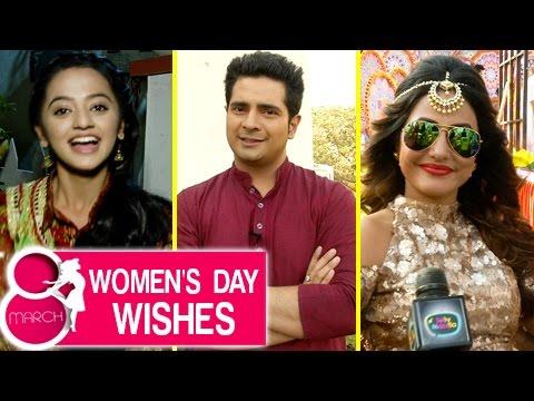 Hina Khan, Helly Shah And Karan Mehra Wishes Happy