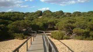 Punta Umbria Spain  city pictures gallery : Punta Umbria, Hiszpania (Spain) - rezerwat i plaża (reserve park & beach)