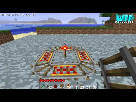 Minecraft - How to build a basic Minecart station