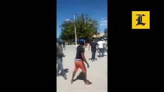 Dominicanos y haitianos se enfrentan a pedradas en Pedernales