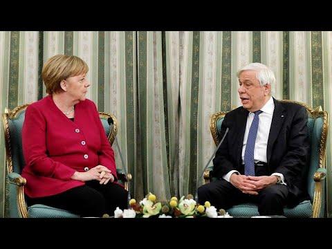 Παυλόπουλος προς Μέρκελ: Στηρίζοντας την Ελλάδα στηρίξατε τη συνοχή της Ε.Ε.…