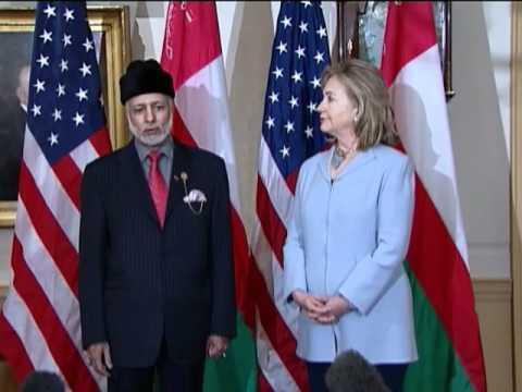 Secretary Clinton Speaks With Yusuf bin Alawi bin Abdullah