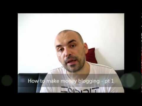 How to Make Money Blogging part 1 – PPP