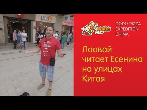Как выжить в Китае со стихами Есенина. Додо Пицца в Китае - Серия 7 (видео)