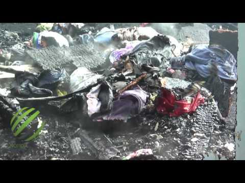 Incêndio destrói residência no Guadalajara em Lages